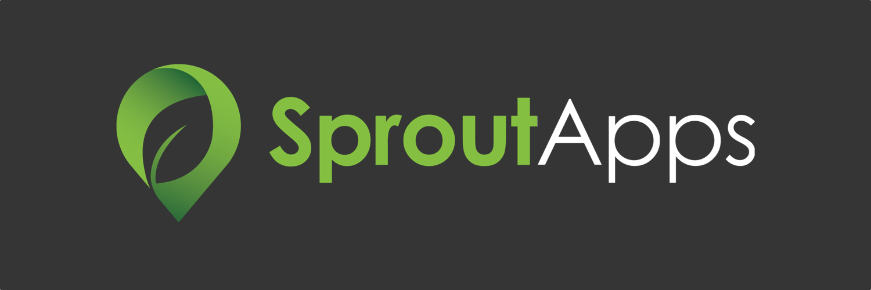 logo vert gradient solid background